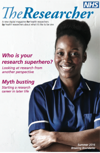 The Researcher front cover