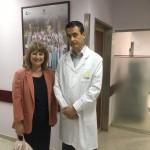 Me with Professor Doutor Lina Goncalves